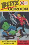 Cover for Blitz Gordon (Semic, 1967 series) #4