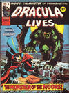 Cover for Dracula Lives (Marvel UK, 1974 series) #12