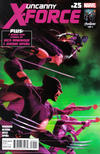 Cover for Uncanny X-Force (Marvel, 2010 series) #25