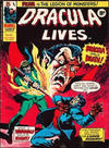 Cover for Dracula Lives (Marvel UK, 1974 series) #45