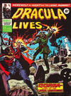 Cover for Dracula Lives (Marvel UK, 1974 series) #46