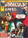 Cover for Dracula Lives (Marvel UK, 1974 series) #49