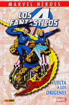 Cover for Coleccionable Marvel Héroes (Panini España, 2010 series) #14 - Los 4 Fantásticos: Vuelta a los Orígenes