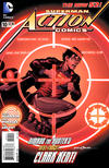 Cover for Action Comics (DC, 2011 series) #10