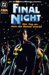 Cover for JLA - Die neue Gerechtigkeitsliga Sonderband (Dino Verlag, 1997 series) #5 - Final Night