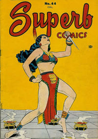 Cover Thumbnail for Superb Comics (Bell Features, 1949 series) #44