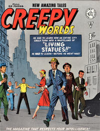 Cover for Creepy Worlds (Alan Class, 1962 series) #45