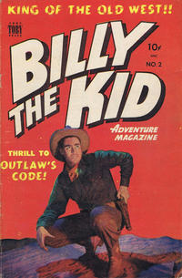 Cover Thumbnail for Billy the Kid (Superior Publishers Limited, 1950 series) #2