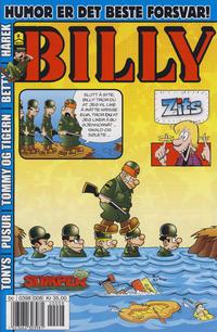Cover Thumbnail for Billy (Hjemmet / Egmont, 1998 series) #8/2012