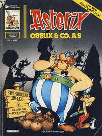 Cover for Asterix (Hjemmet / Egmont, 1969 series) #23 - Obelix & Co. A/S [2. opplag]
