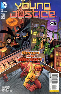 Cover Thumbnail for Young Justice (DC, 2011 series) #16