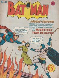 Cover Thumbnail for Batman (K. G. Murray, 1950 series) #31