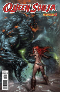 Cover Thumbnail for Queen Sonja (Dynamite Entertainment, 2009 series) #29 [Lucio Parrillo Cover]