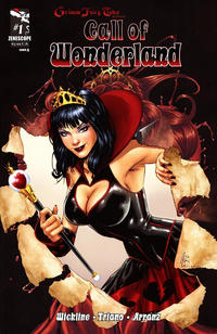 Cover Thumbnail for Grimm Fairy Tales Presents Call of Wonderland (Zenescope Entertainment, 2012 series) #1 [Cover A]