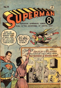 Cover Thumbnail for Superman (K. G. Murray, 1947 series) #91