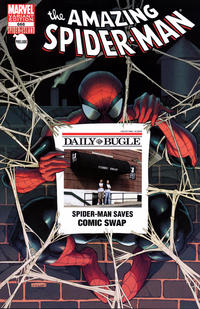 Cover Thumbnail for The Amazing Spider-Man (Marvel, 1999 series) #666 [Comic Swap Exclusive Bugle Variant Cover]