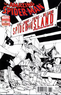Cover Thumbnail for The Amazing Spider-Man (Marvel, 1999 series) #667 [Second Printing Lizard Sketch]