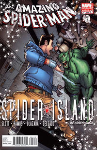 Cover Thumbnail for The Amazing Spider-Man (Marvel, 1999 series) #668 [2nd Printing Variant Cover]
