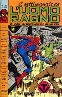 Cover Thumbnail for Il Settimanale de L'Uomo Ragno (Editoriale Corno, 1981 series) #16