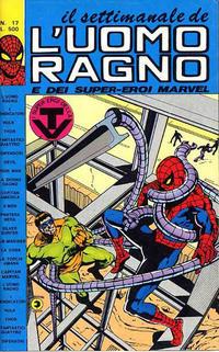 Cover Thumbnail for Il Settimanale de L'Uomo Ragno (Editoriale Corno, 1981 series) #17