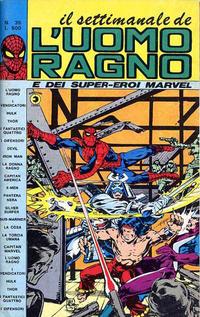 Cover Thumbnail for Il Settimanale de L'Uomo Ragno (Editoriale Corno, 1981 series) #35