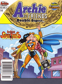 Cover Thumbnail for Archie & Friends Double Digest Magazine (Archie, 2011 series) #14 [Direct Edition]