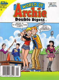 Cover Thumbnail for World of Archie Double Digest (Archie, 2010 series) #16 [Newsstand]