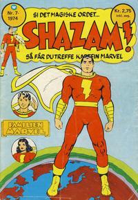 Cover Thumbnail for Shazam! (Illustrerte Klassikere / Williams Forlag, 1974 series) #7/1974