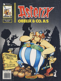 Cover Thumbnail for Asterix (Hjemmet / Egmont, 1969 series) #23 - Obelix & Co. A/S [5. opplag]