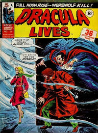 Cover Thumbnail for Dracula Lives (Marvel UK, 1974 series) #23