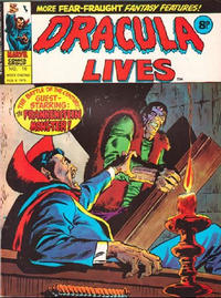 Cover Thumbnail for Dracula Lives (Marvel UK, 1974 series) #16