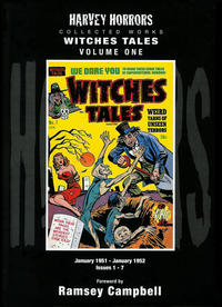 Cover Thumbnail for Harvey Horrors Collected Works: Witches Tales (PS, 2011 series) #1