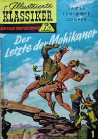 Cover Thumbnail for Illustrierte Klassiker [Classics Illustrated] (Rudl Verlag, 1952 series) #1 - Der Letzte der Mohikaner