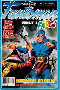 Cover Thumbnail for Fantomen (Semic, 1963 series) #8/1991