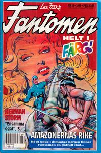 Cover Thumbnail for Fantomen (Semic, 1963 series) #10/1991