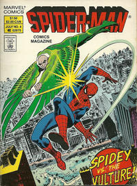 Cover Thumbnail for Spider-Man Comics Magazine (Marvel, 1987 series) #4