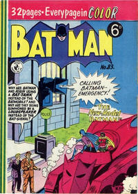 Cover Thumbnail for Batman (K. G. Murray, 1950 series) #83