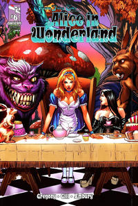 Cover Thumbnail for Grimm Fairy Tales Presents Alice in Wonderland (Zenescope Entertainment, 2012 series) #6 [Cover A - Anthony Spay Gatefold Cover]