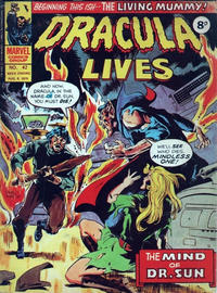 Cover Thumbnail for Dracula Lives (Marvel UK, 1974 series) #42