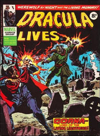 Cover Thumbnail for Dracula Lives (Marvel UK, 1974 series) #46