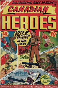 Cover Thumbnail for Canadian Heroes (Educational Projects, 1942 series) #v1#2