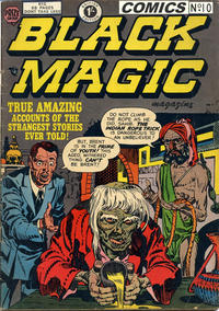 Cover Thumbnail for Black Magic Comics (Arnold Book Company, 1952 series) #10