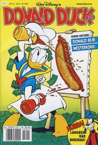 Cover Thumbnail for Donald Duck & Co (Hjemmet / Egmont, 1948 series) #21/2012