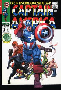 Cover Thumbnail for Captain America Omnibus (Marvel, 2011 series) #1 [Ron Garney Cover]