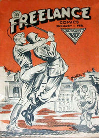 Cover Thumbnail for Freelance Comics (Anglo-American Publishing Company Limited, 1941 series) #v1#12