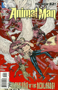 Cover Thumbnail for Animal Man (DC, 2011 series) #10
