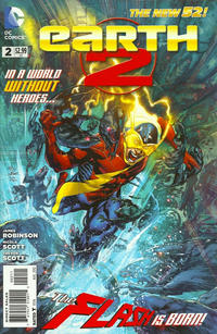 Cover Thumbnail for Earth 2 (DC, 2012 series) #2