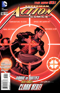 Cover Thumbnail for Action Comics (DC, 2011 series) #10