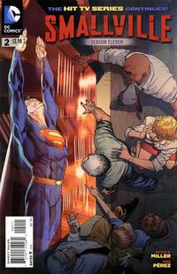 Cover for Smallville Season 11 (DC, 2012 series) #2