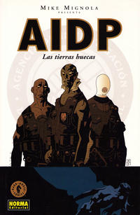 Cover Thumbnail for AIDP (NORMA Editorial, 2004 series) #1 - Las Tierras Huecas